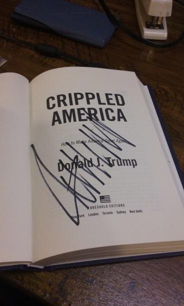Trump signature